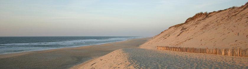 Aquitaine : Sur la vaste étendue sableuse