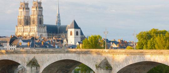 se rendre à Orléans